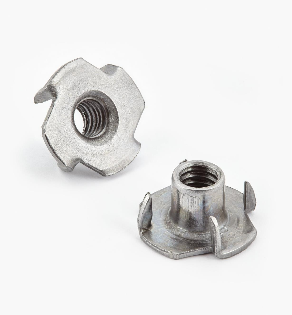 00N5204 - 4-Prong T-Nuts, pkg. of 10