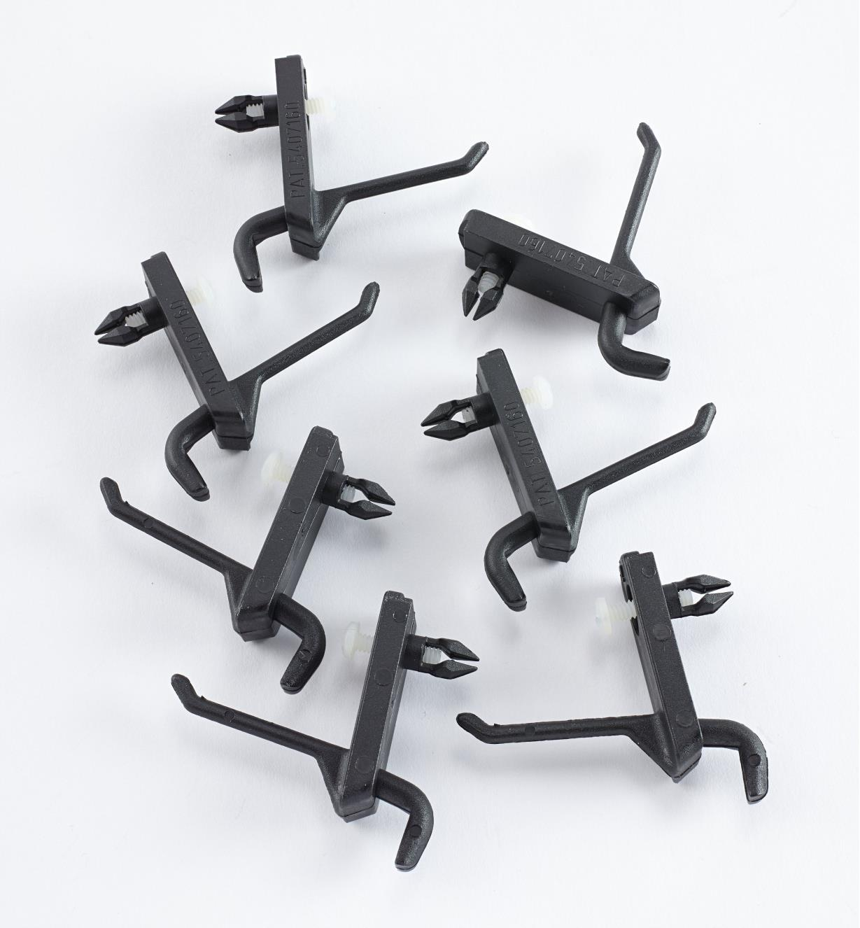"93K0104 - 1 3/8"" Straight Bar Hooks (6)"
