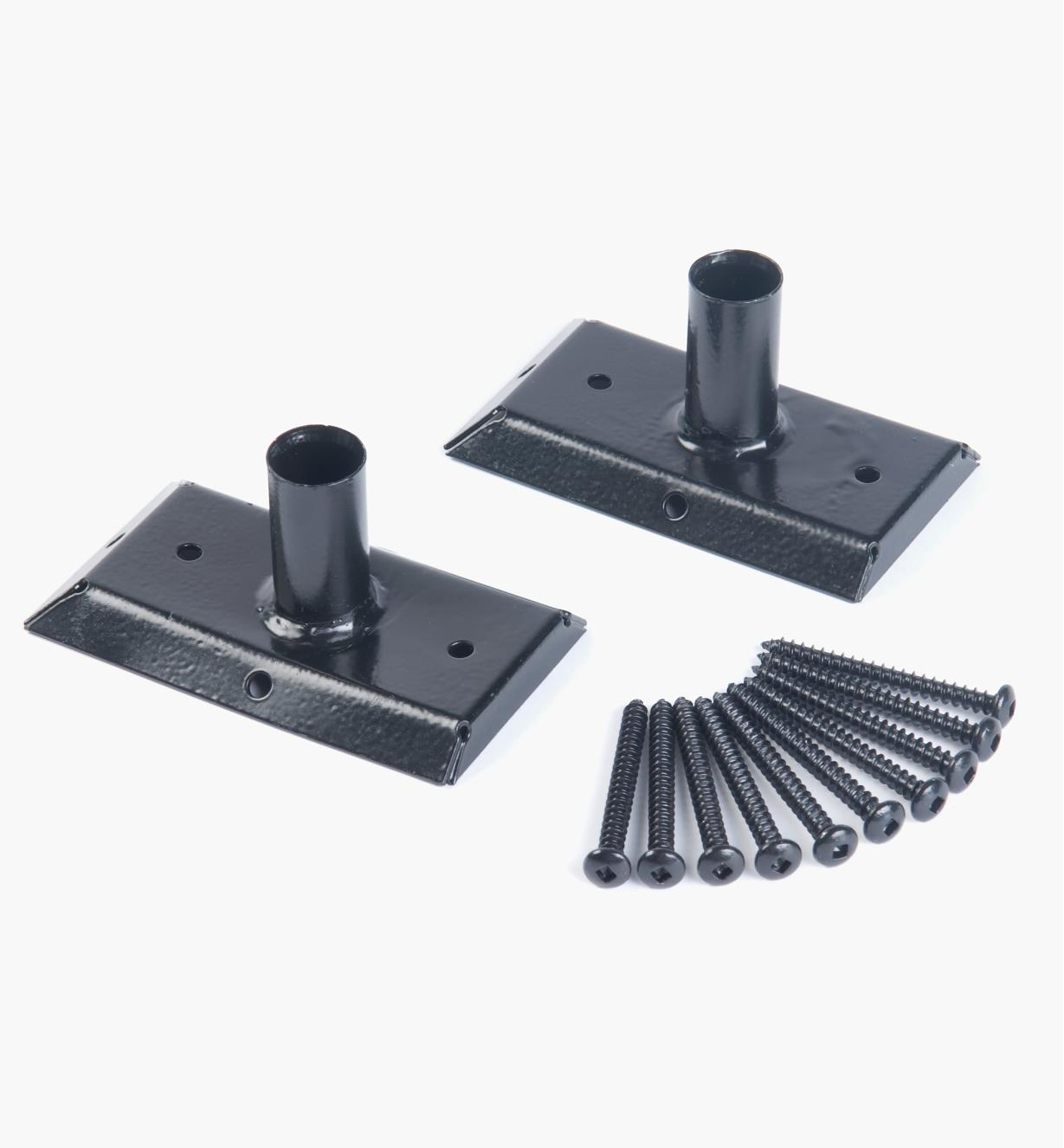 01S1810 - Titan 90° Rail Connectors, pair