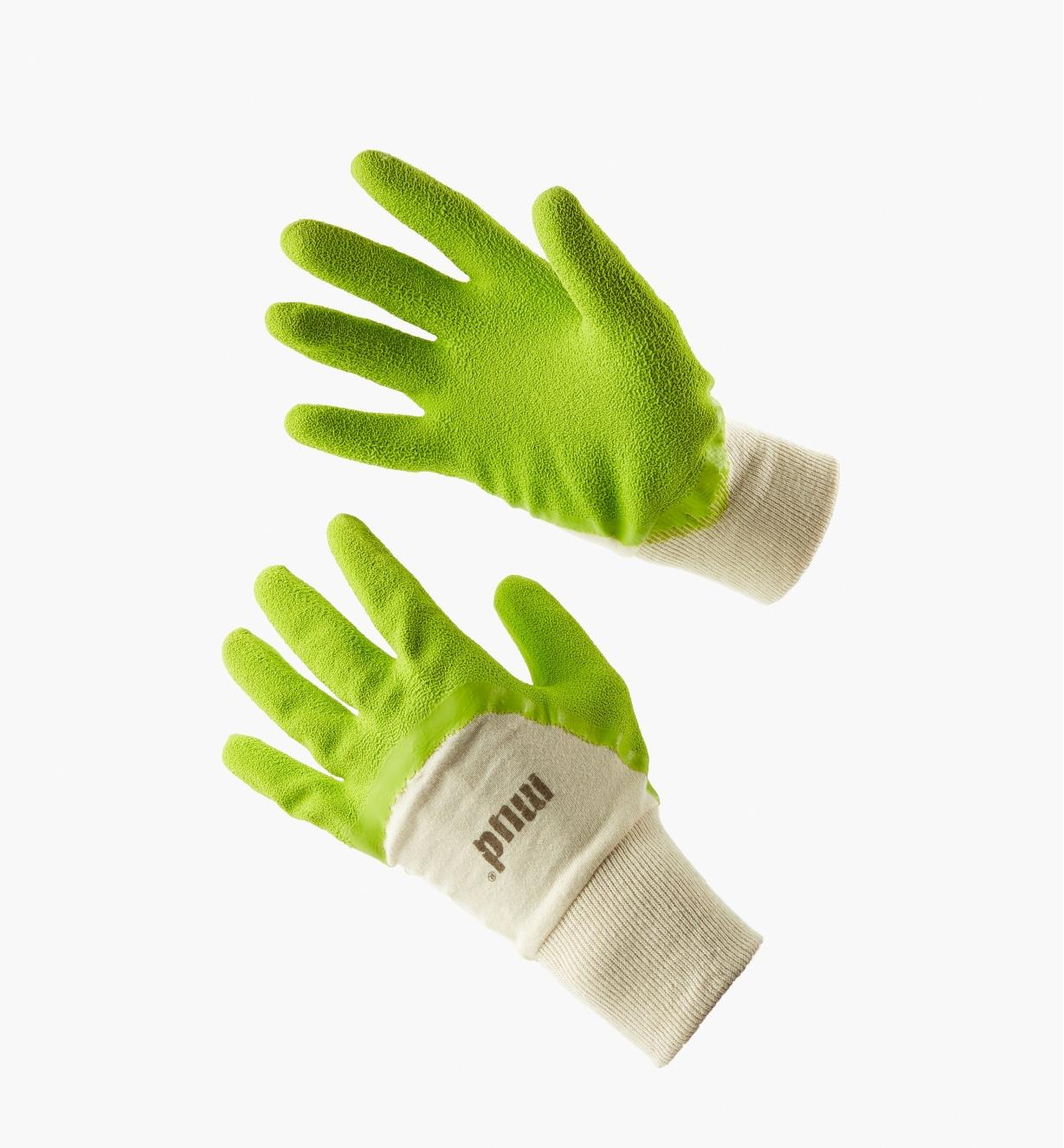 The Original Gripper Mud Gloves (Lime Green)
