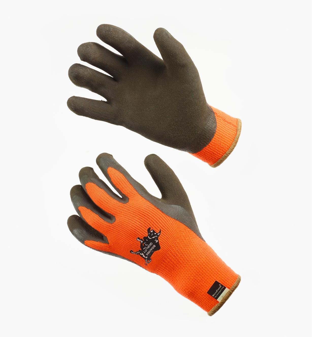 AH203 - Thermal Gripper Gloves, L (size 9)