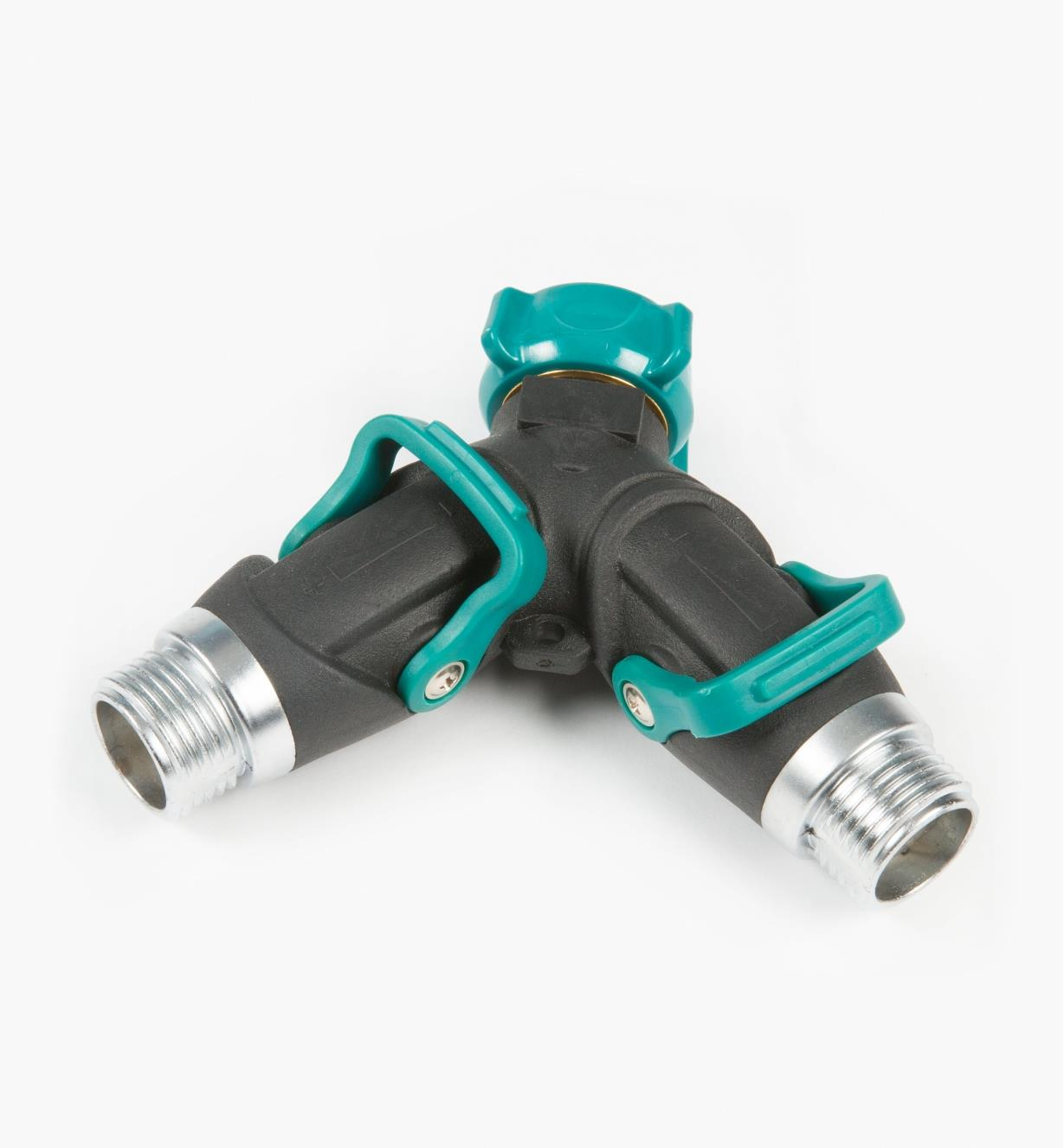 AL809 - Thumb-Operated Shut-Off Y-Valve