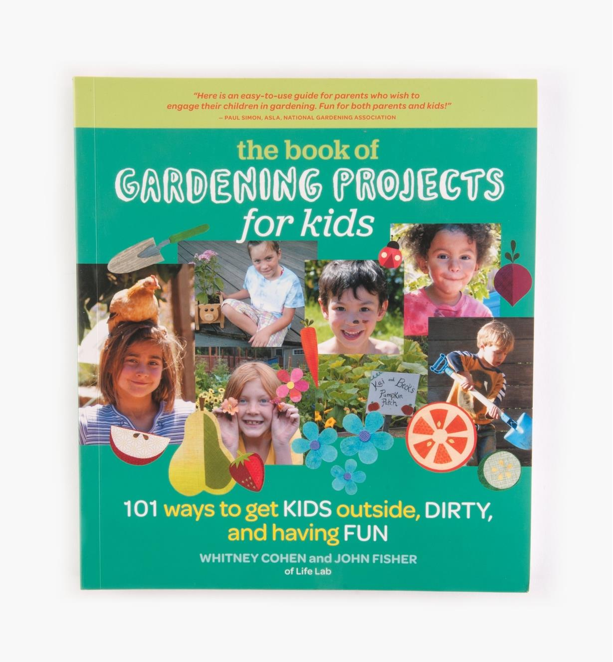 LA945 - The Book of Gardening Projects for Kids