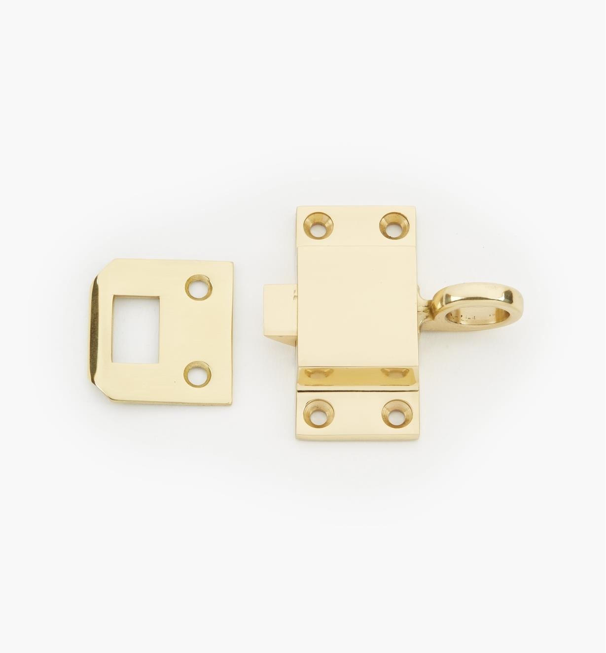 00L0501 - Polished Brass Transom Latch
