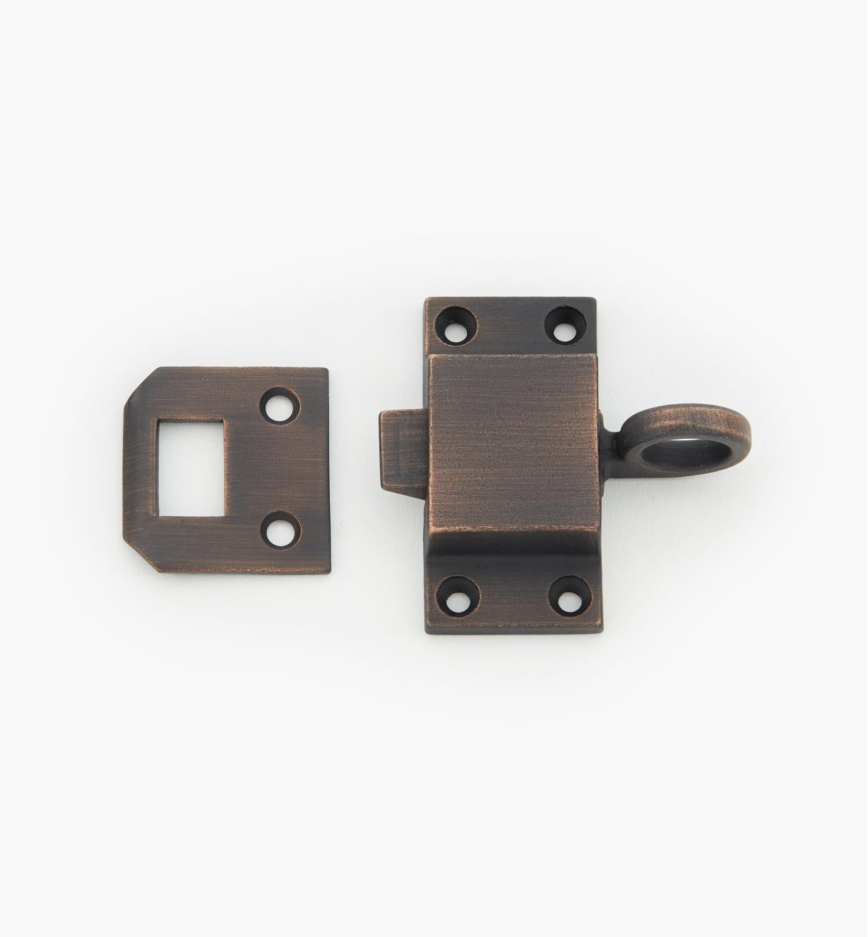 00L0505 - Weathered Bronze Transom Latch