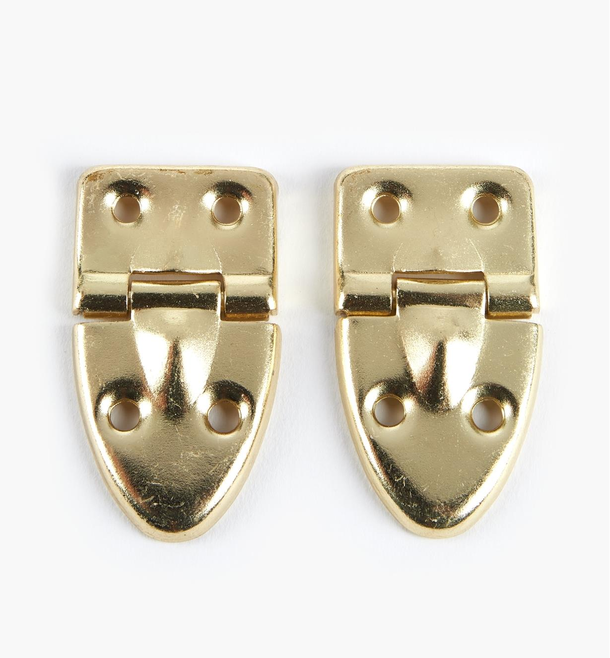 00S6601 - Small Trunk Hinges, pr.
