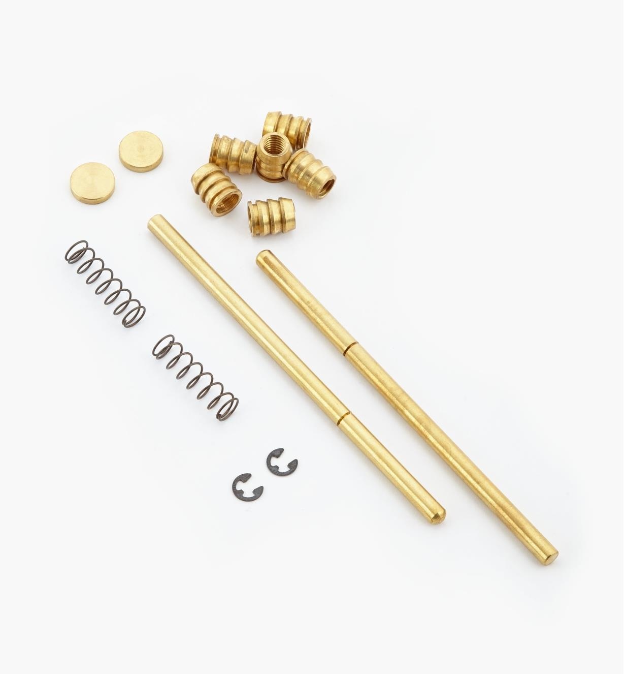 Locking Spring Pins, pair