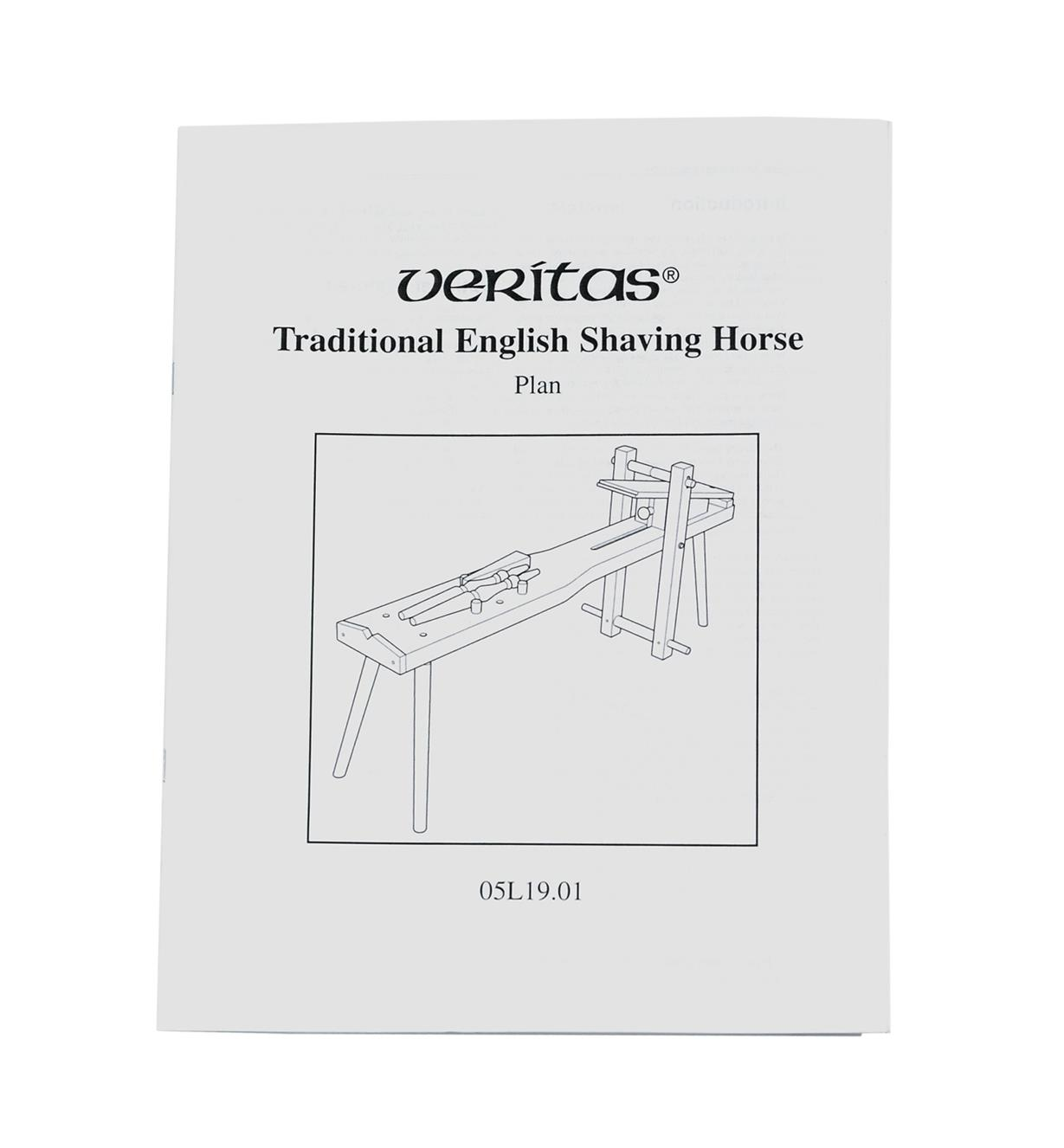 05L1901 - Veritas Shaving Horse Plan