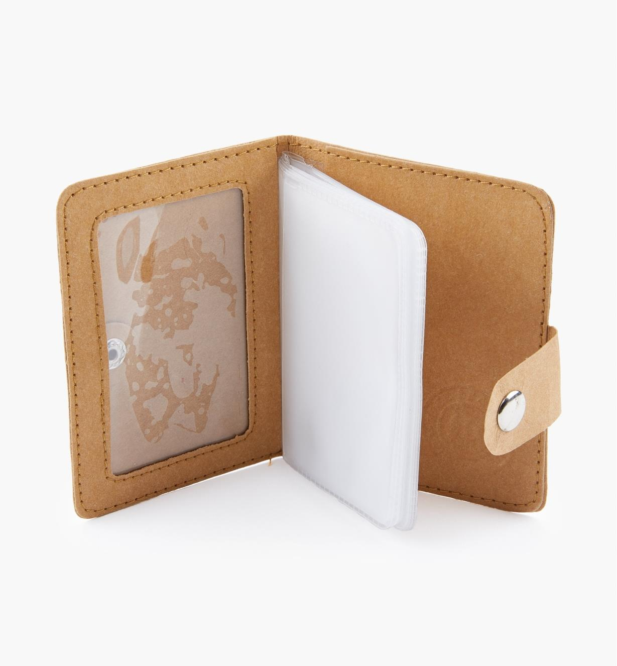 09A0937 - Tree Leather Card Wallet