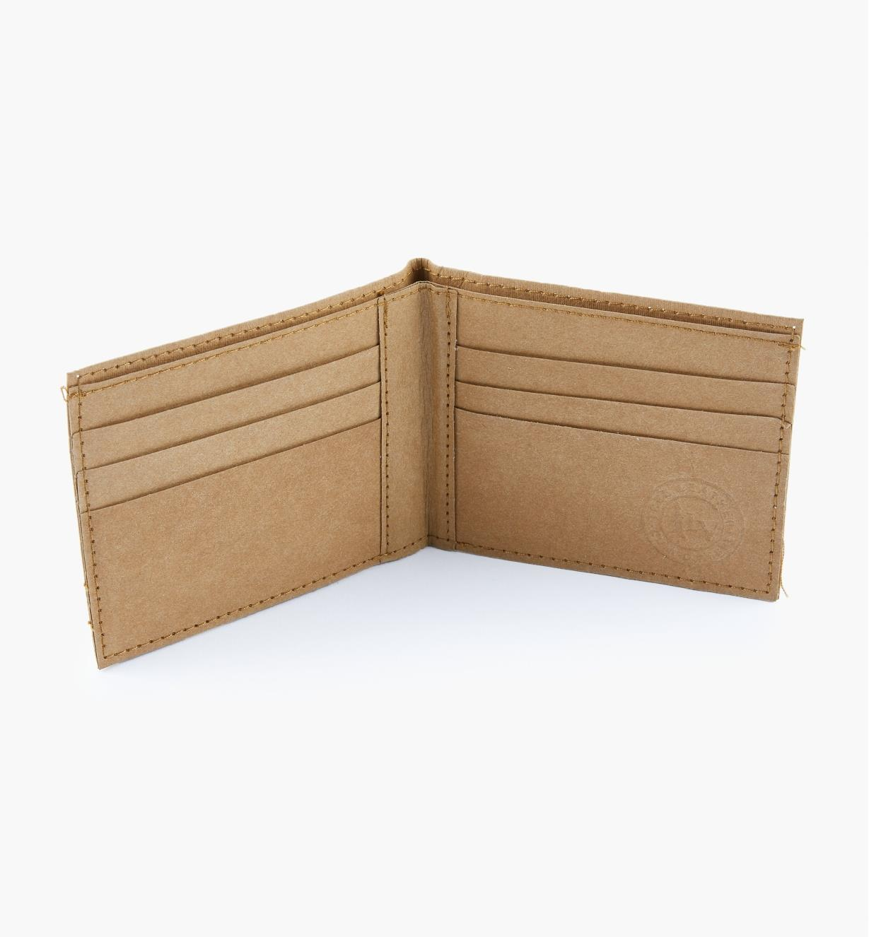 09A0938 - Tree Leather Classic Billfold Wallet