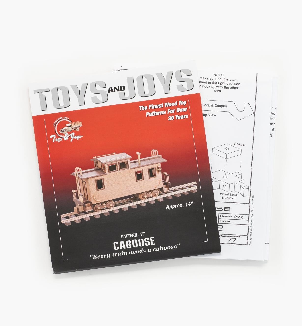 26L1008 - Caboose Plan