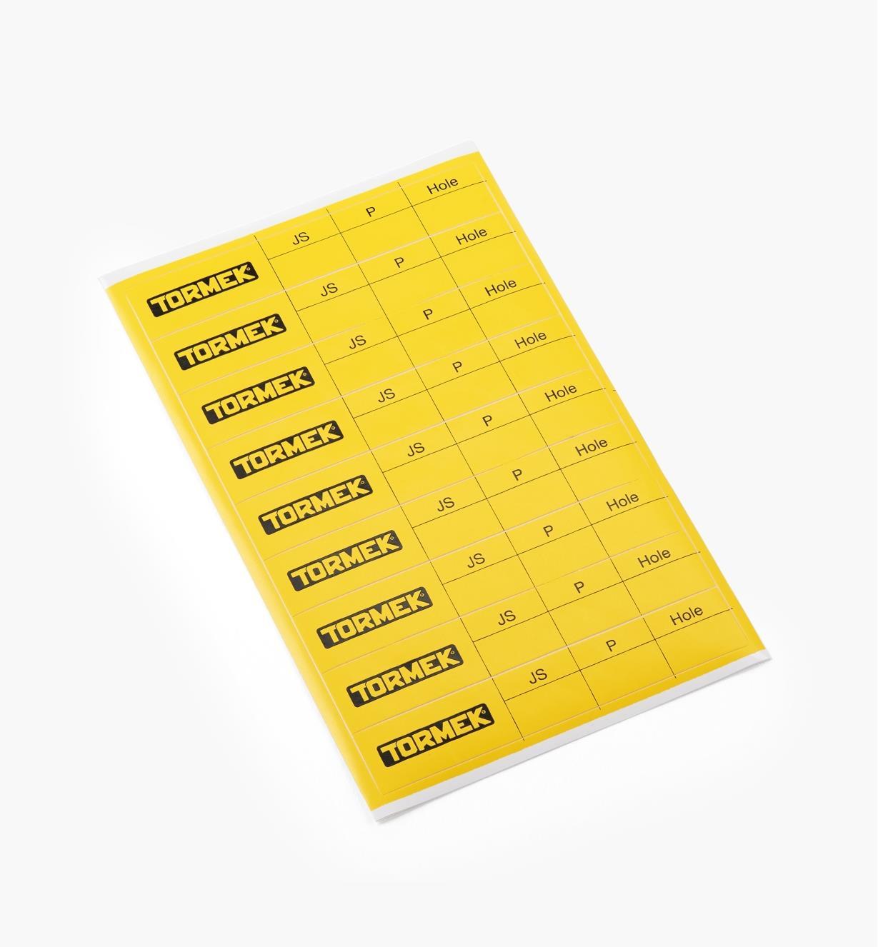 68M0164 - Étiquettes de remplacement pour outils de tournage, le paquet de 9