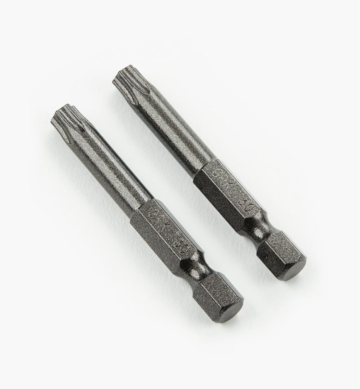93Z0142 - Torx T-30 x 2 po noir, la paire