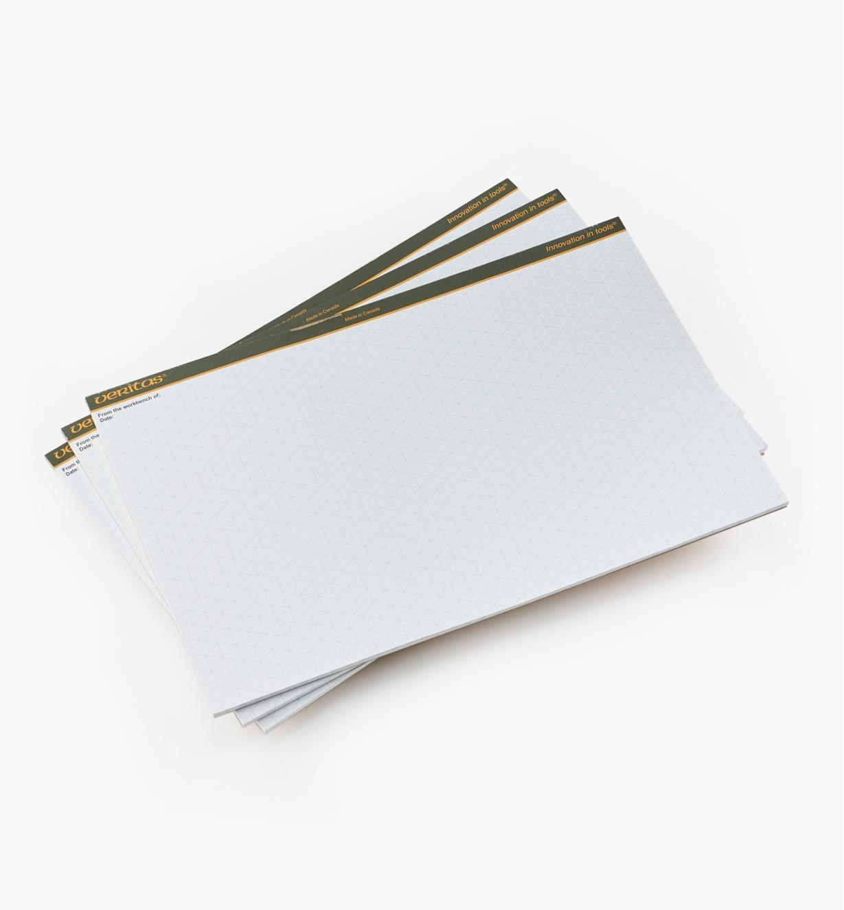 "05L2151 - 11"" x17"" Drawing Pads, pkg. of 3"