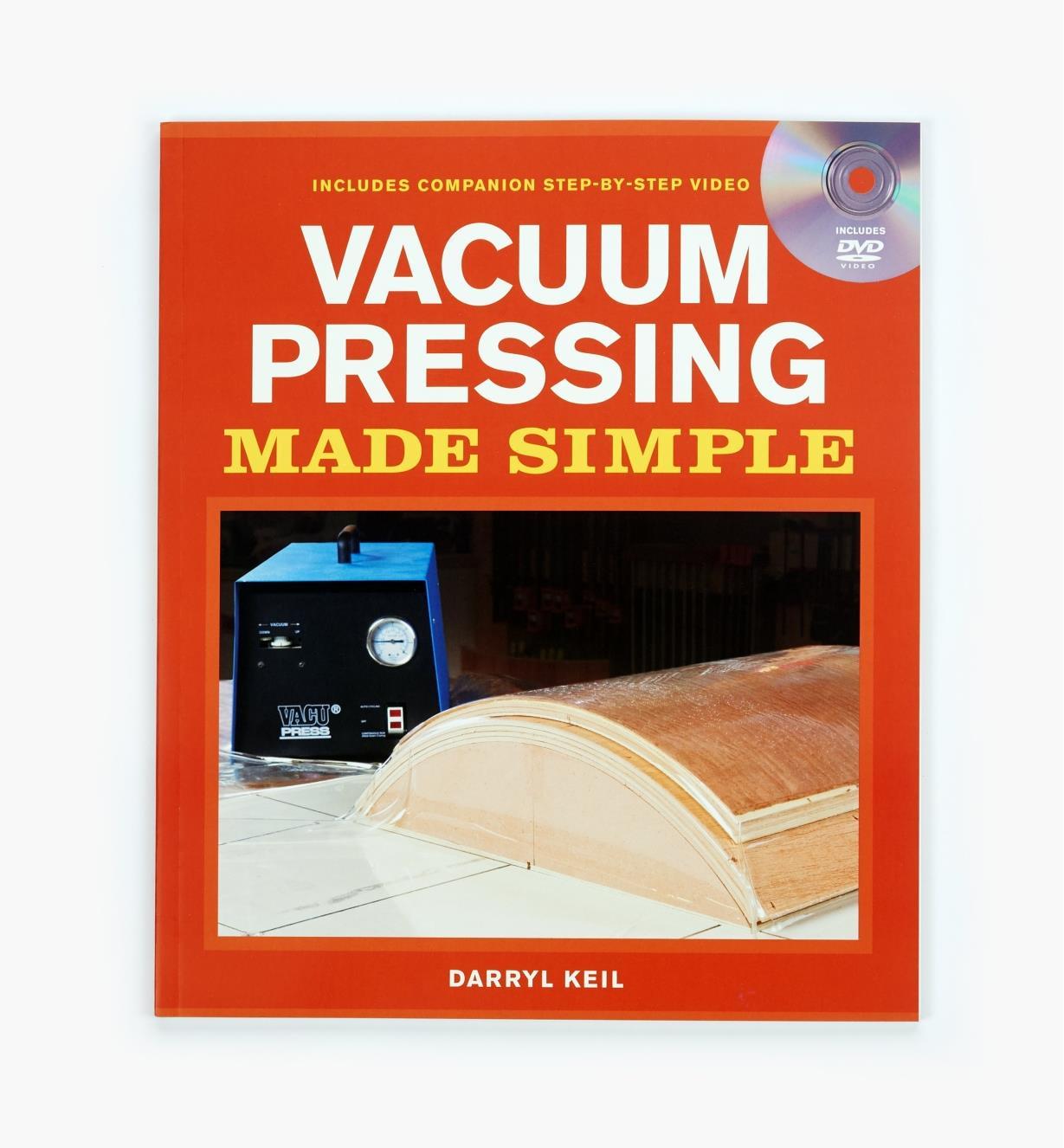73L0516 - Vacuum Pressing Made Simple — Book & DVD Set