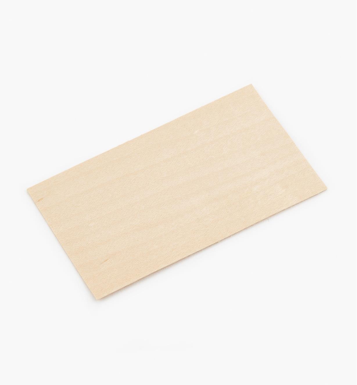 99W8905 - Veneer Cards, pkg. of 50