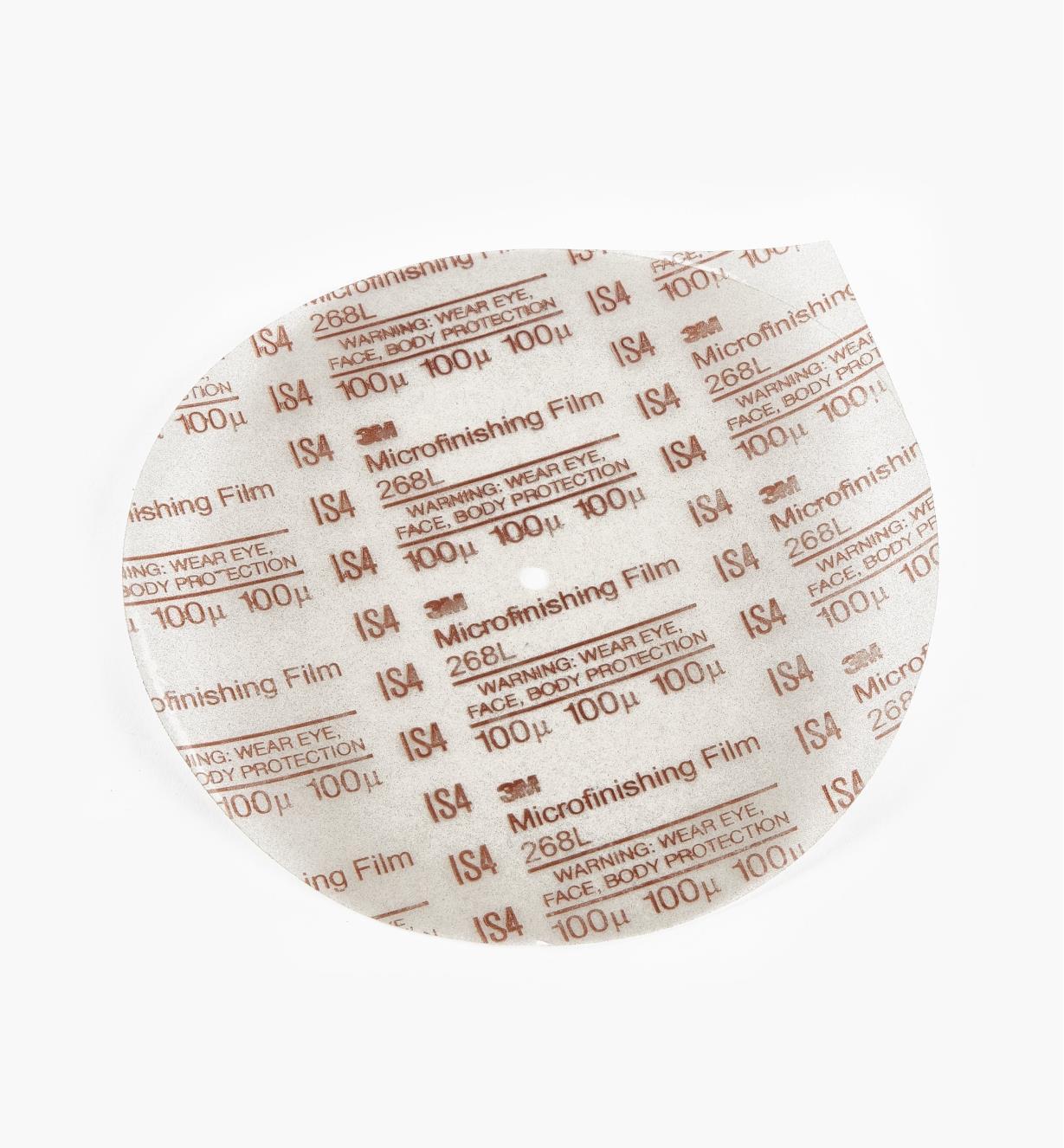 05M3020 - Disque en oxyde d'aluminium de 8po, grain150*