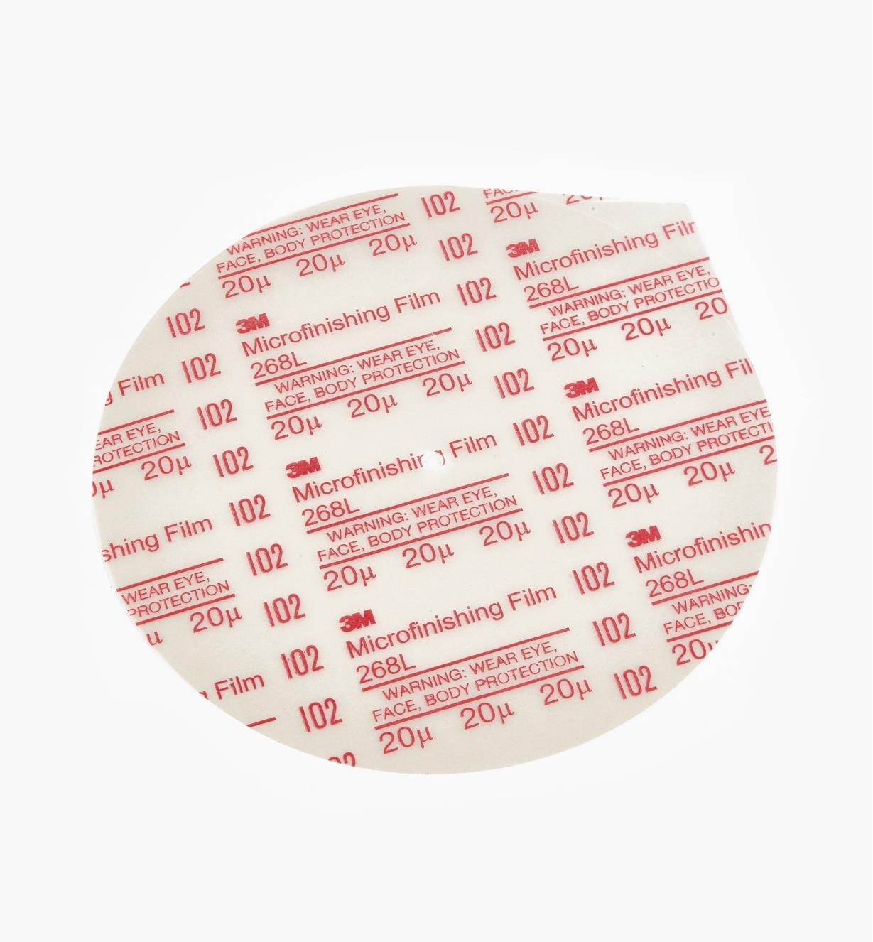 05M3023 - Disque en oxyde d'aluminium de 8po, grain500
