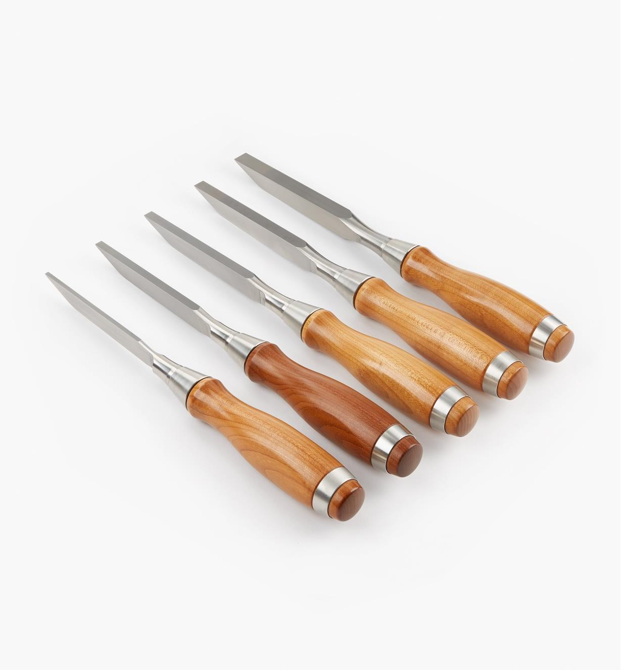 05S3240 - Set of 5 Veritas Mortise Chisels, A2