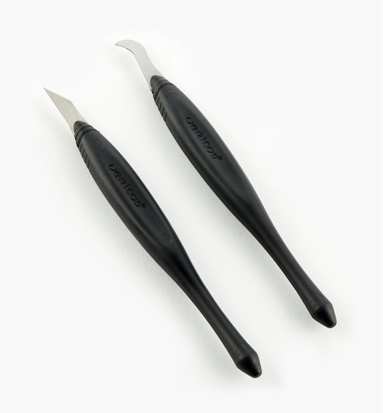 05K1231 - Ensemble de couteaux à rainurer et de finition Veritas, 0,025po
