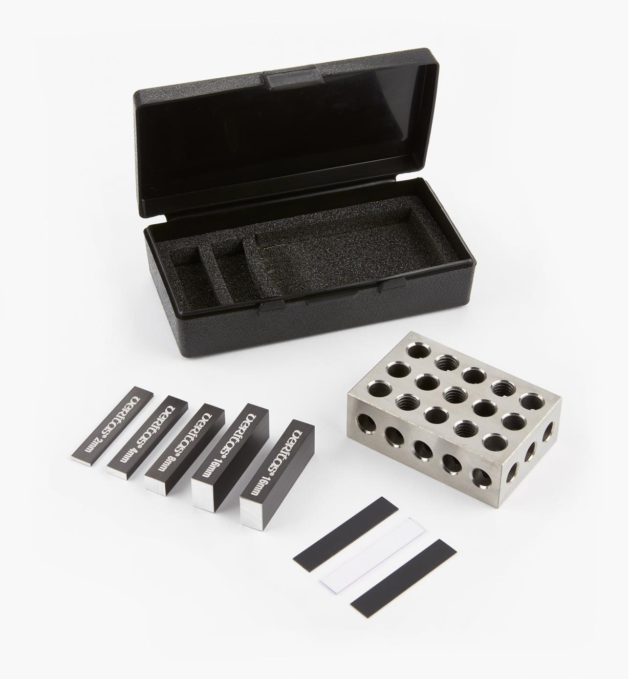 05N5812 - Veritas 9-Piece Set-Up Blocks, Metric Set