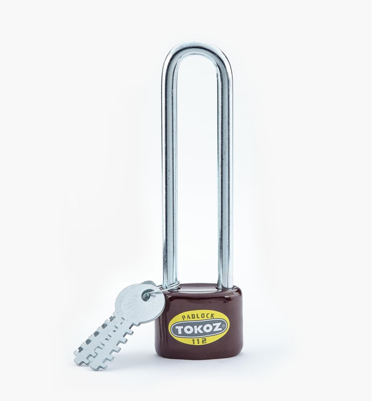 00F3011 - Long-Shackle Padlock, 5""