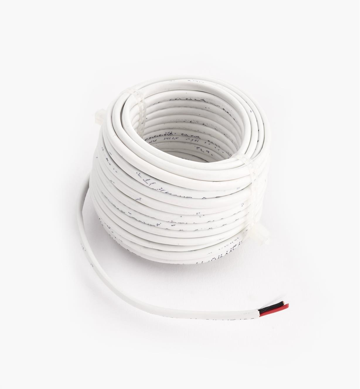 00U4138 - 18ga. Stranded Two-Conductor In-Wall Wire, 26.2' (8m)