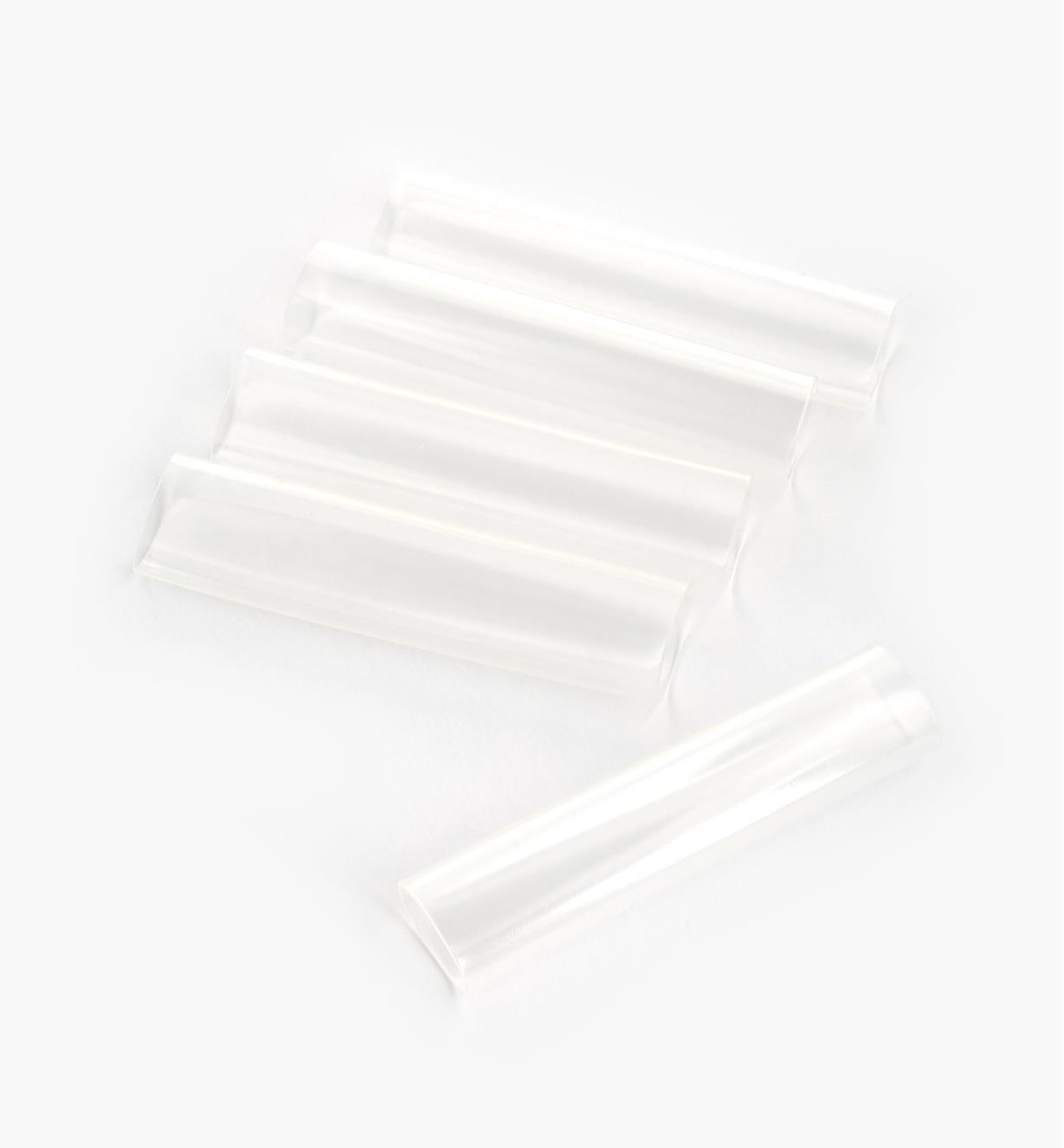 00U4145 - Tubes thermorétrécissables pour luminaire-ruban blanc, lepaquetde5