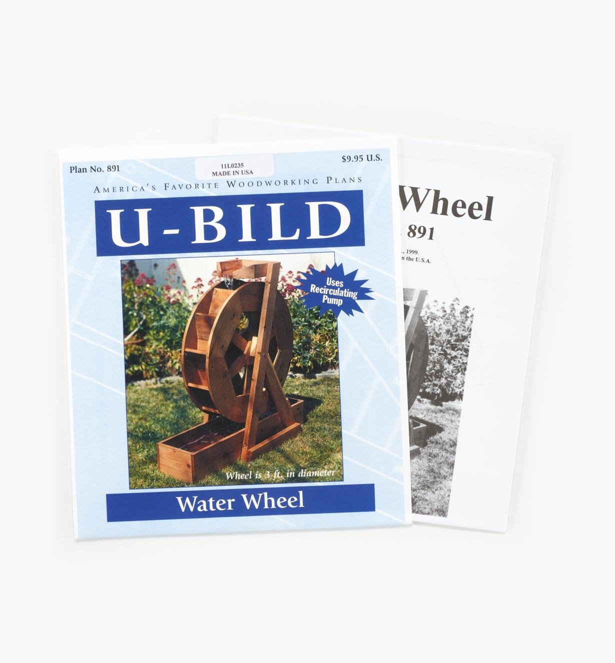 11L0235 - Water Wheel Plan