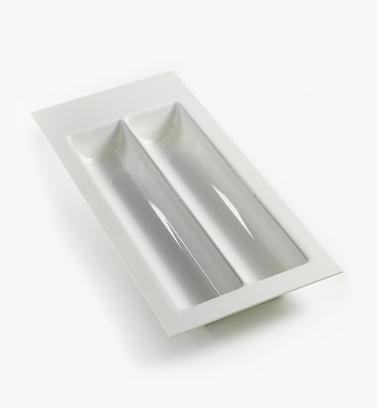 "12K2525 - White Wave Drawer Insert, 250mm (9 7/8"")"