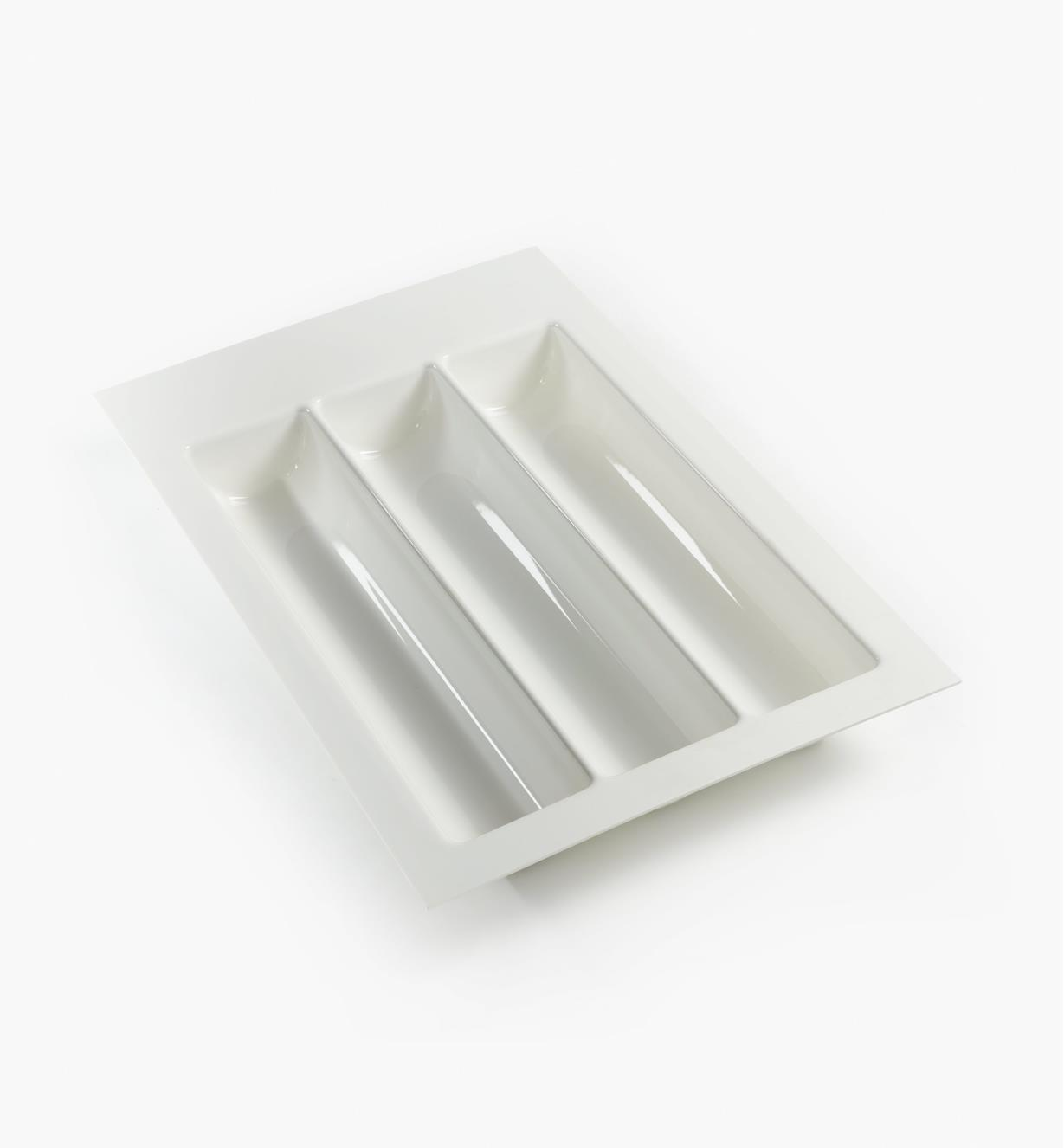 "12K2535 - White Wave Drawer Insert, 350mm (13 3/4"")"