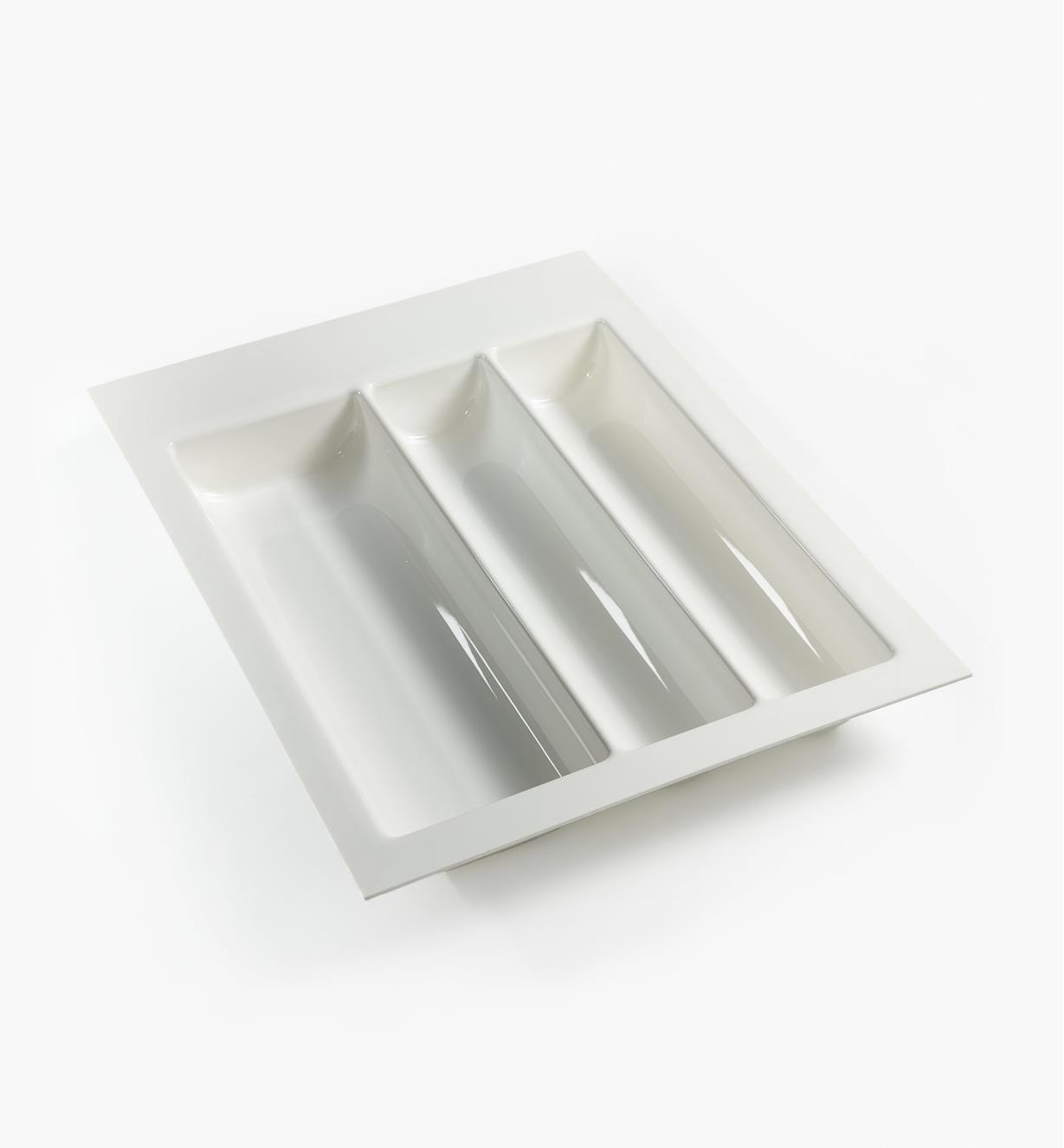 "12K2540 - White Wave Drawer Insert, 400mm (15 3/4"")"