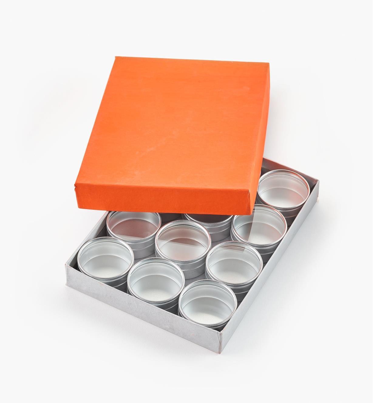 27K5048 - Lot de 12petites boîtes de 48mm