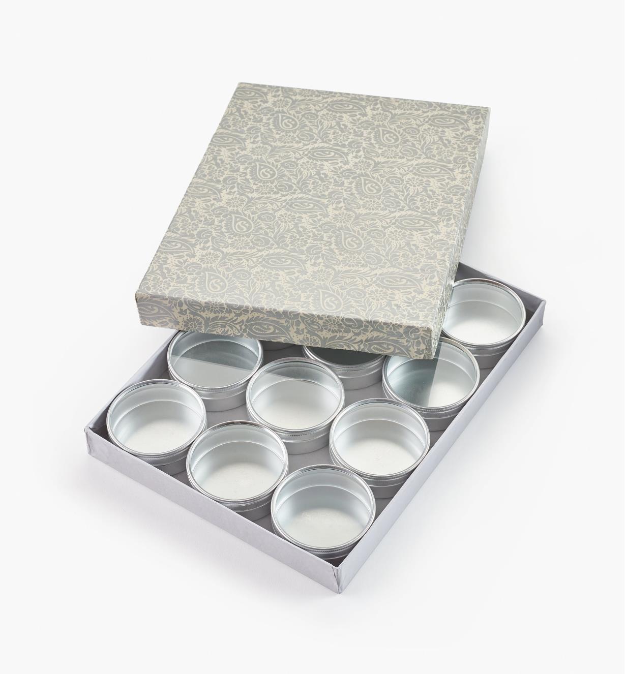 27K5075 - Lot de 12petites boîtes de 70mm