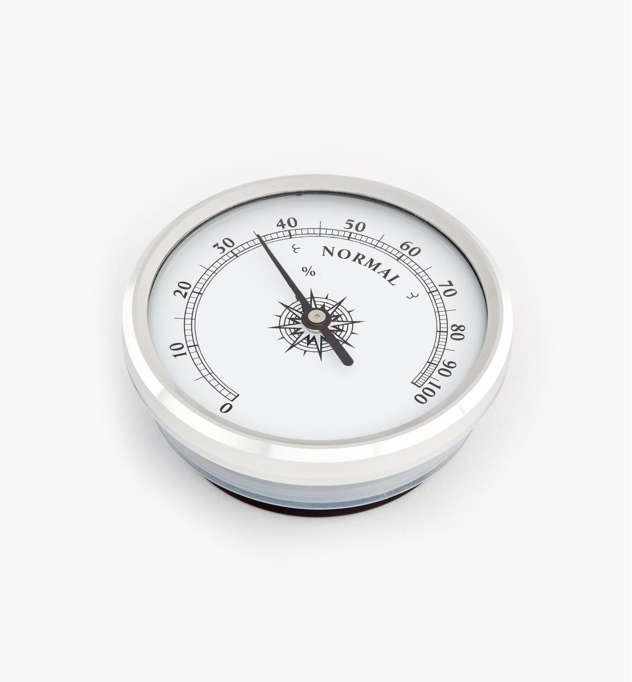 46K7002 - Hygromètre encastrable à lunette en aluminium, l'unité