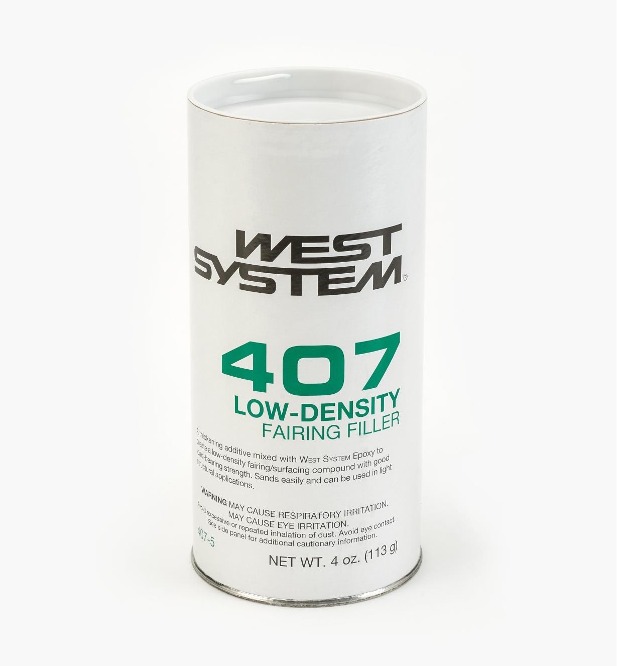54Z2107 - Épaississant à faible densité no407, 4oz
