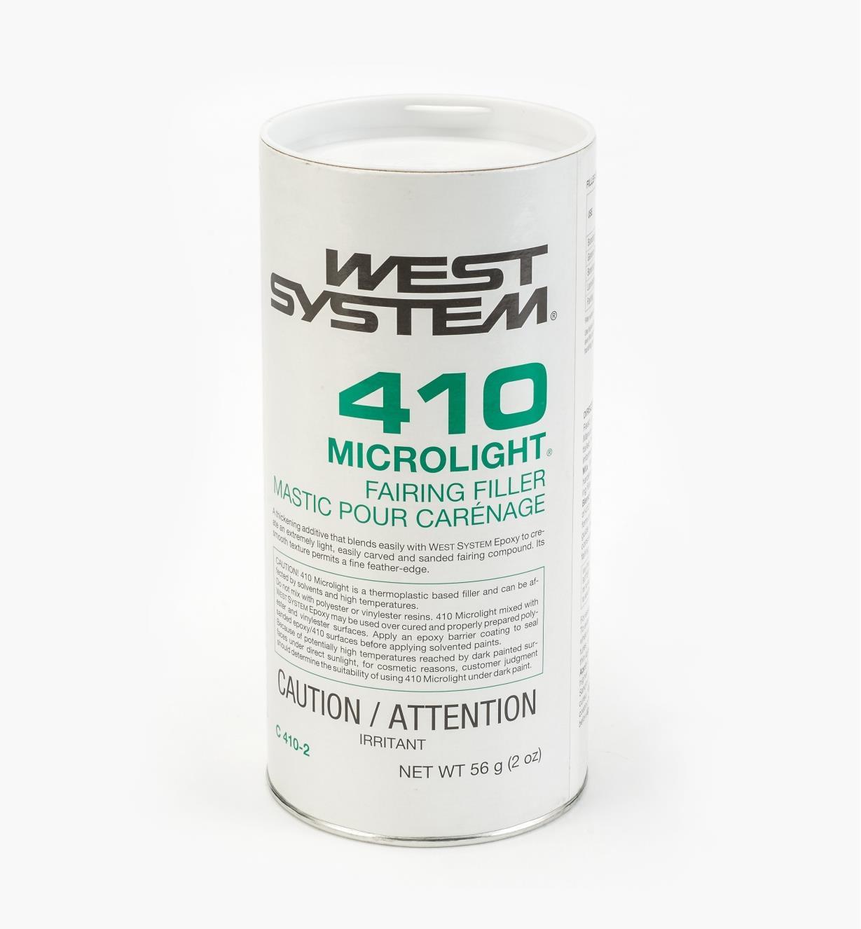 54Z2110 - Épaississant léger no410, 2oz