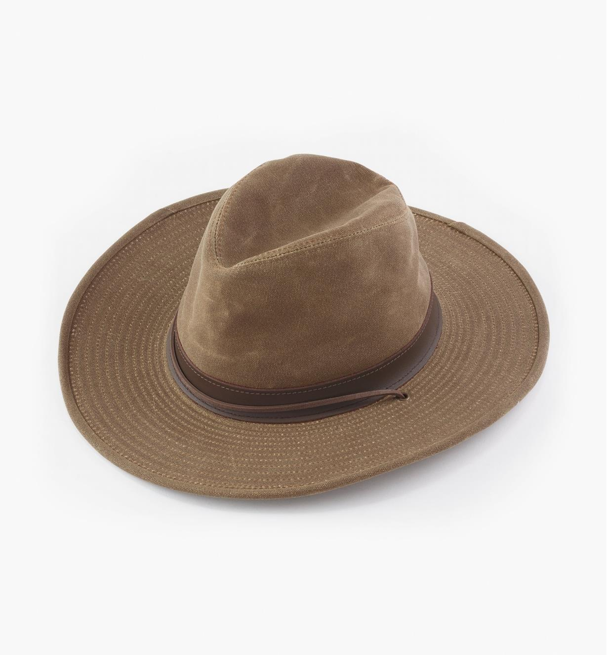 HL515 - Waxed Canvas Hat, Medium