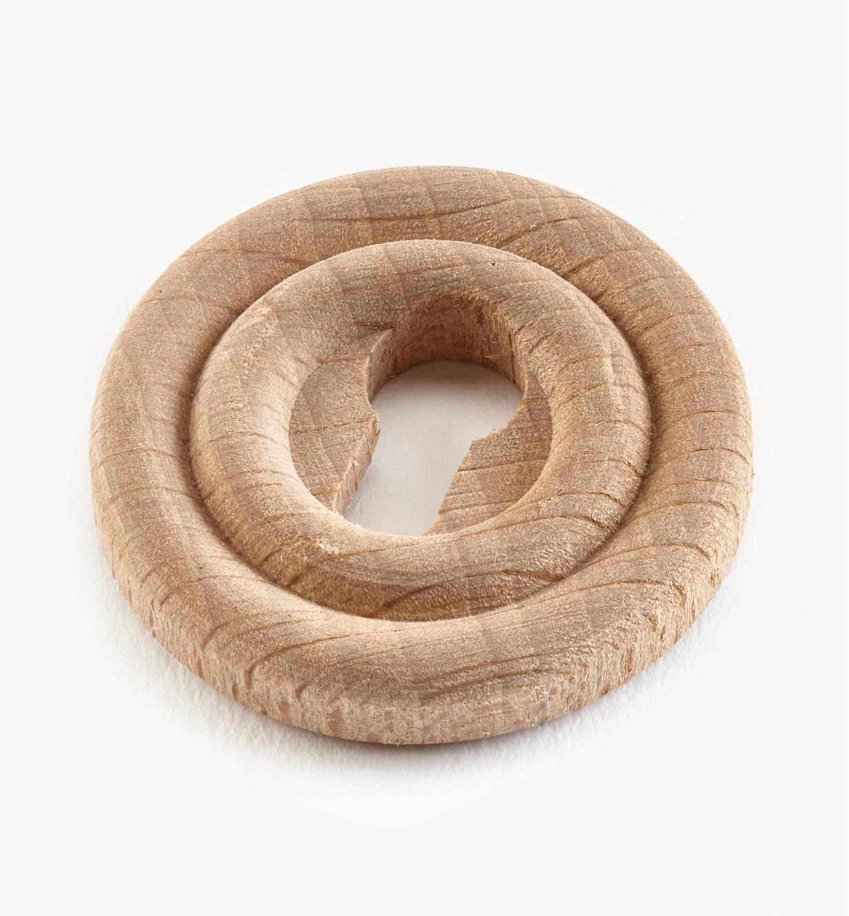 00A1110 - Plain Wood Escutcheon