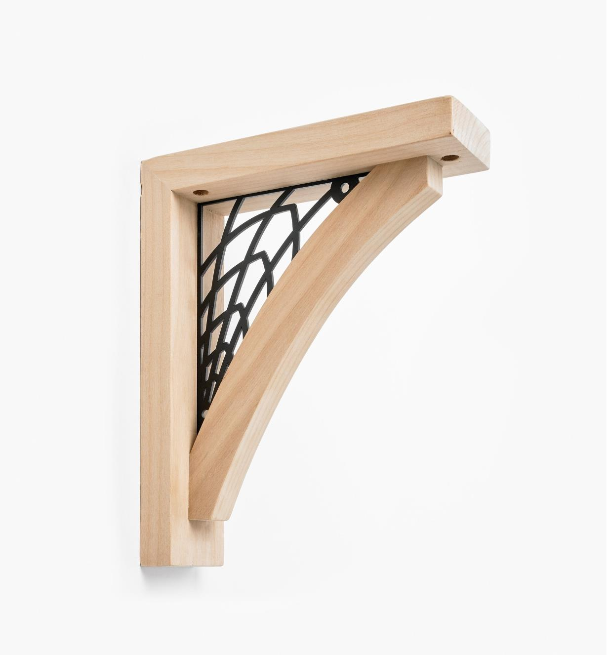 00S0730 - Web Wooden Shelf Bracket