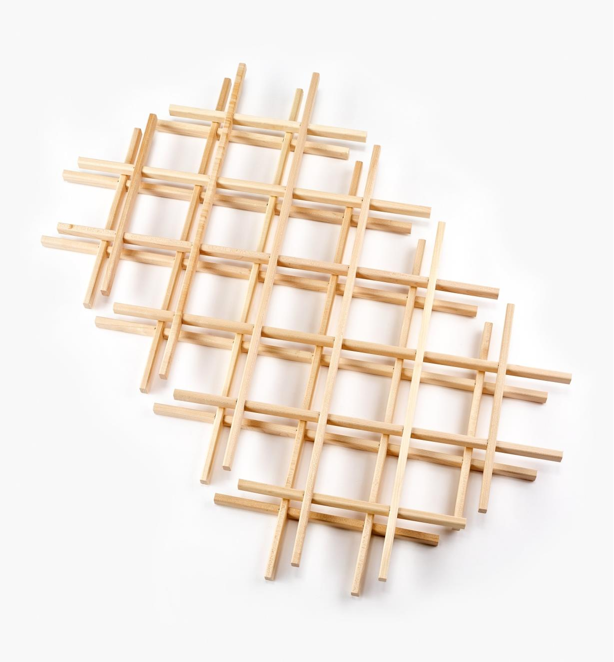 "12K7430 - 17"" x 29"" Maple Lattices, pr."