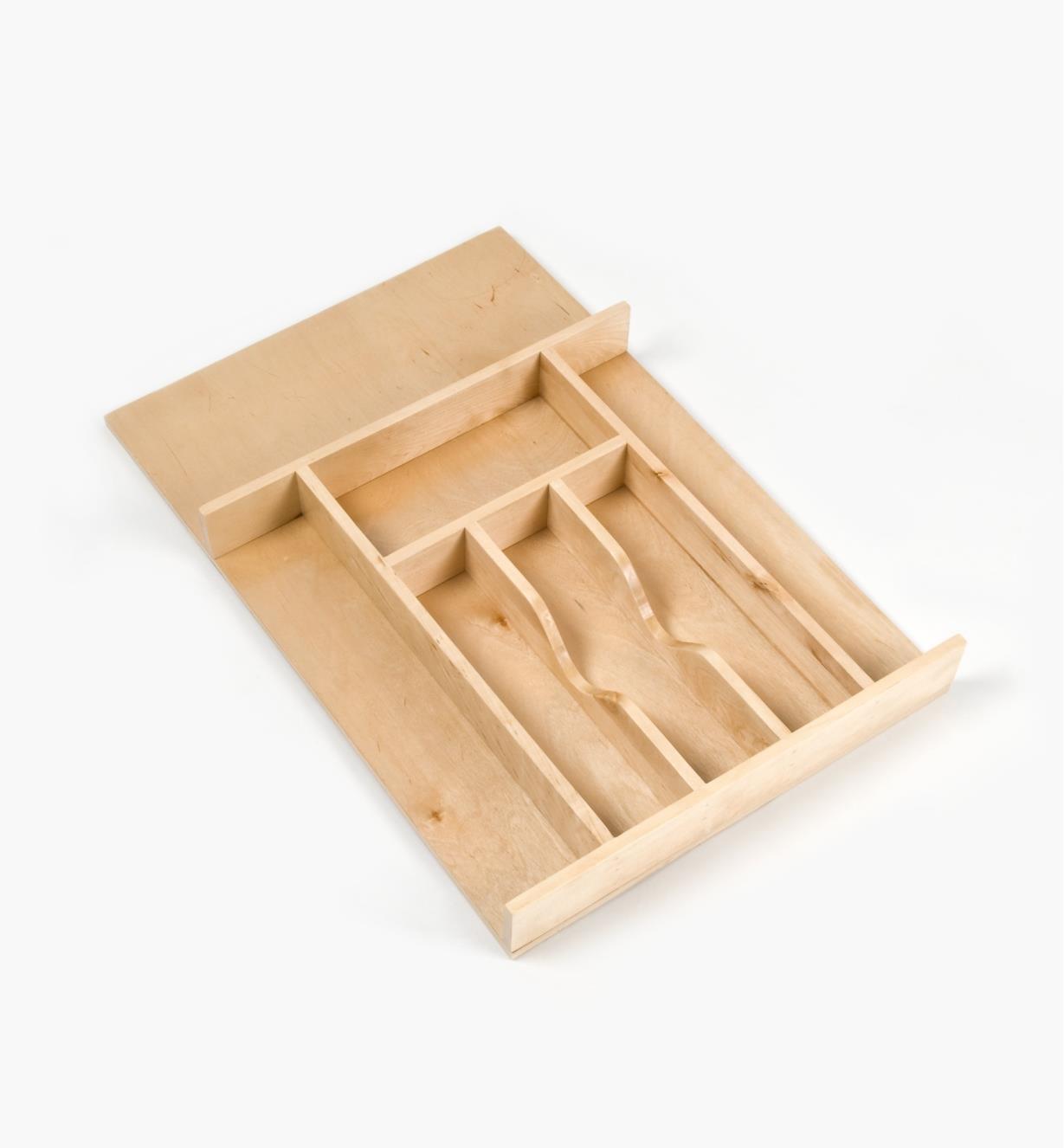 """12K7530 - Small Cutlery Tray, 14 5/8"""" × 22"""""""