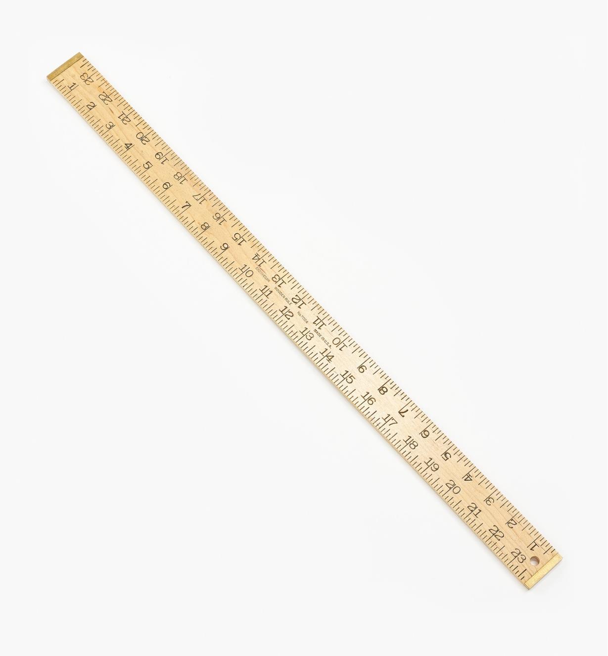"""24N0124 - 24"""" Wooden Rule"""