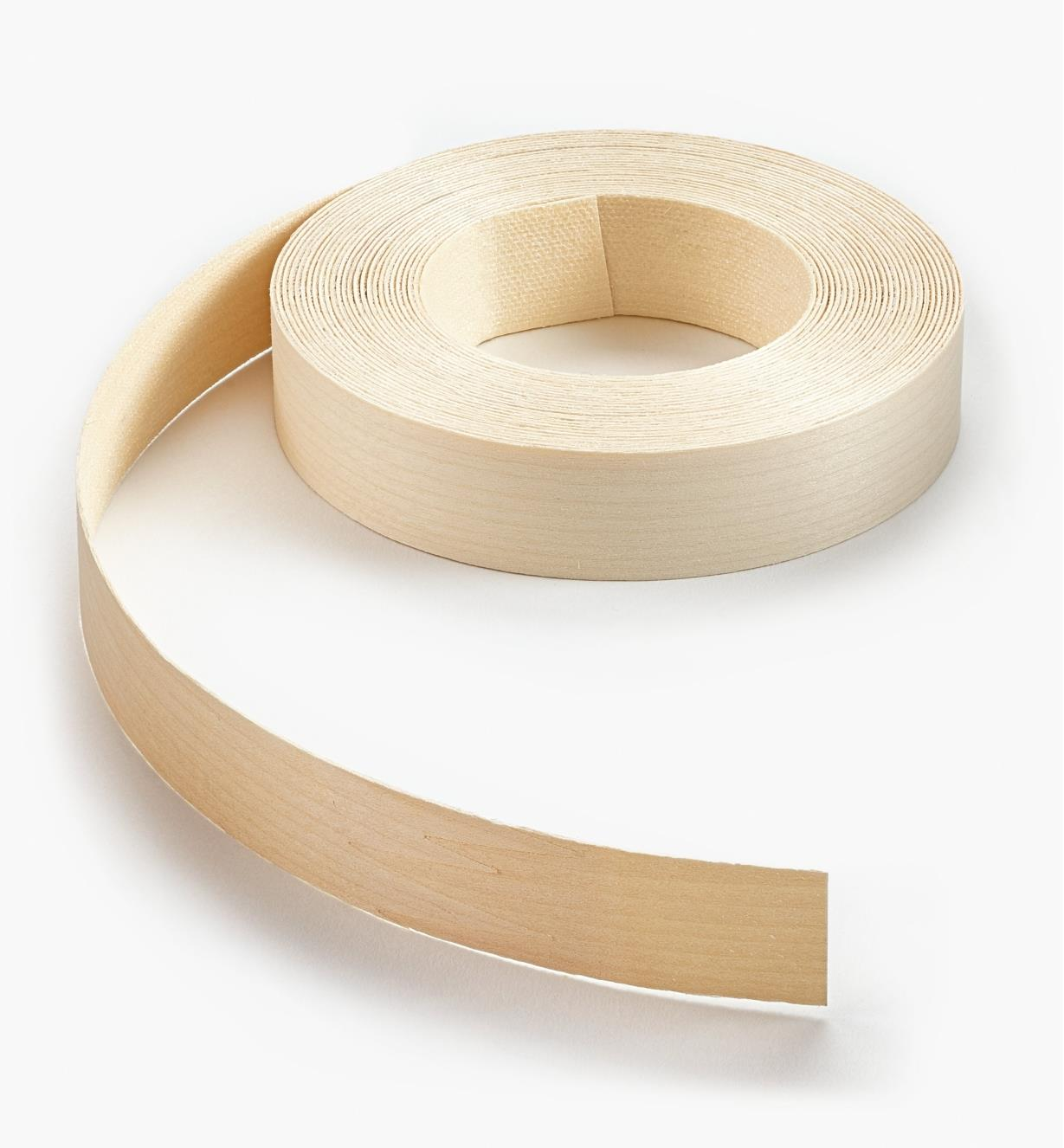 "41A0501 - 7/8"" × 25ft Maple Banding"