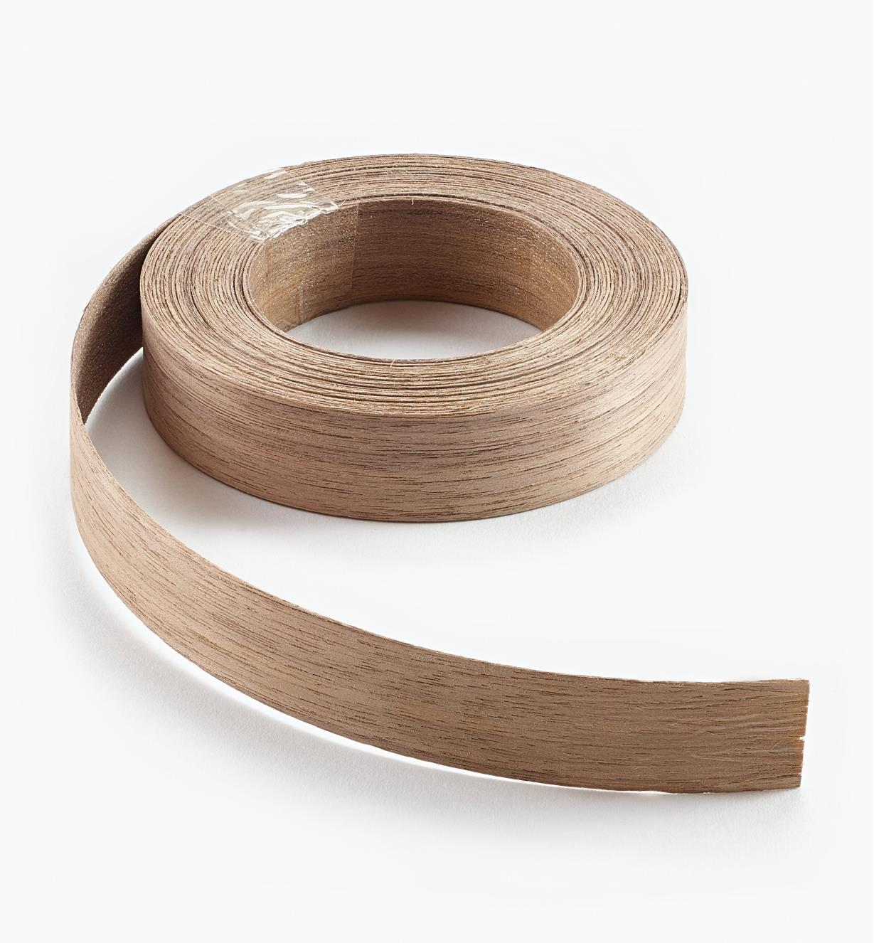 "41A0601 - 7/8"" × 25ft Walnut Banding"
