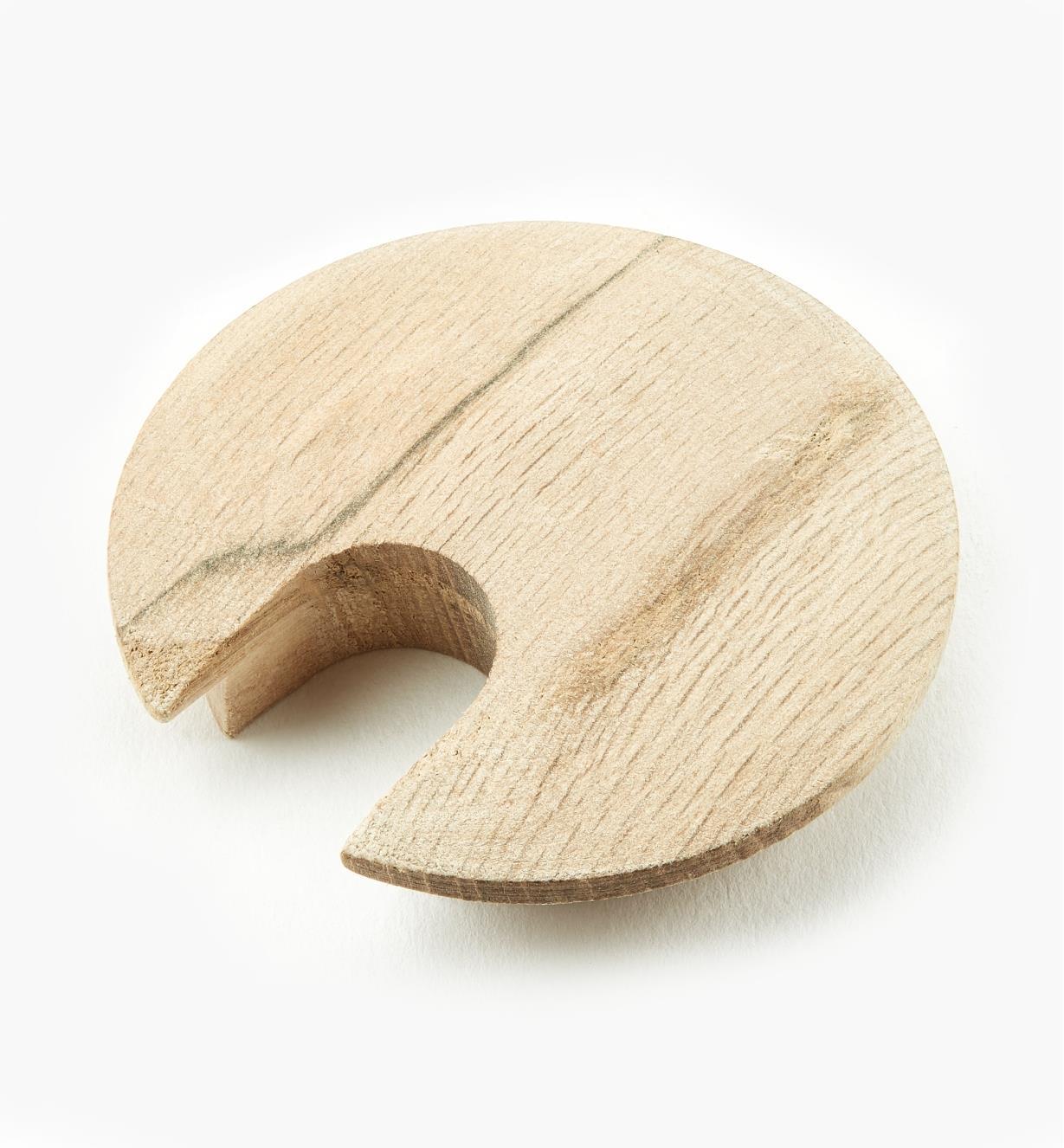 41K2781 - Passe-câble en bois de chêne
