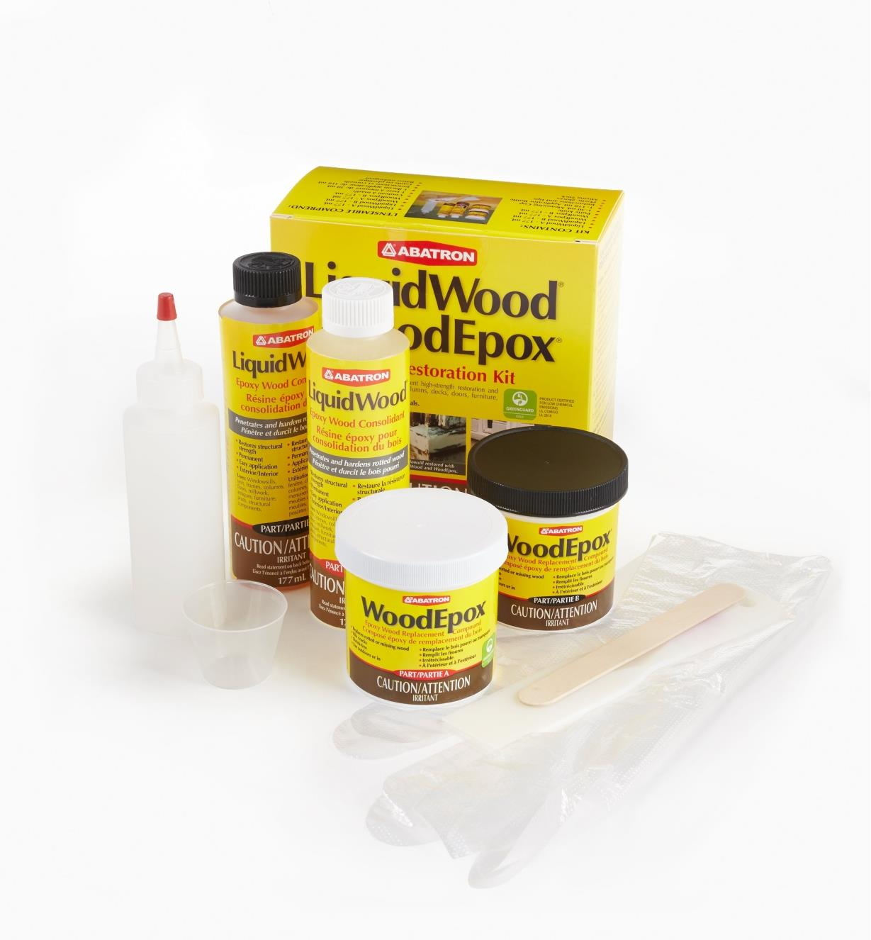 56k0701 - Wood Restoration Kit, 24 fl oz