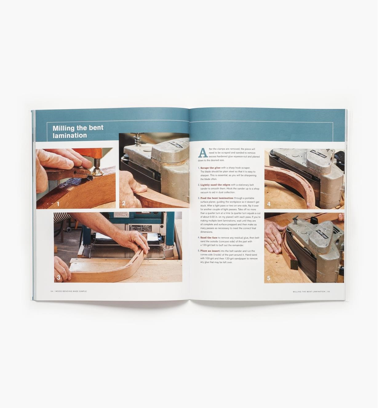 73L0494 - Wood Bending Made Simple — Book & DVD Set