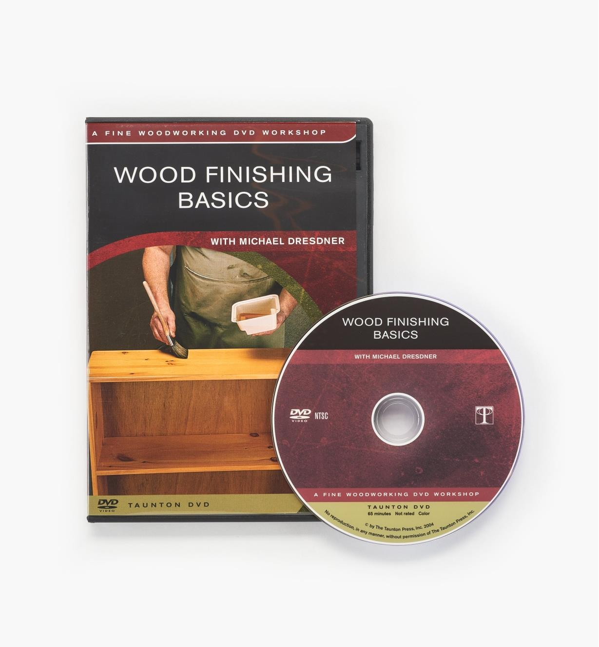 73L1017 - Wood Finishing Basics — DVD