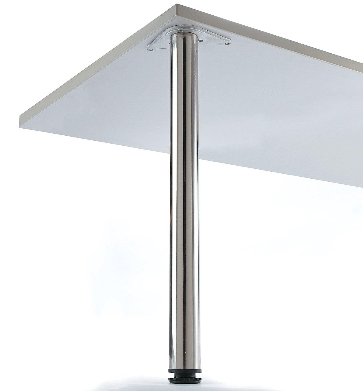00S8012 - Satin Nickel Table Leg